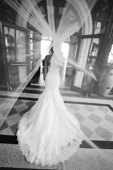 THE wedding dress.