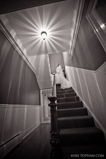 Stairs from the Bridal Suite