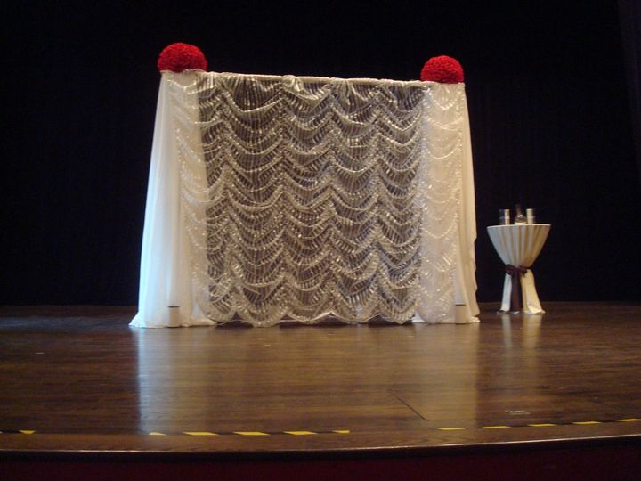 Wedding Ceremony on Stage