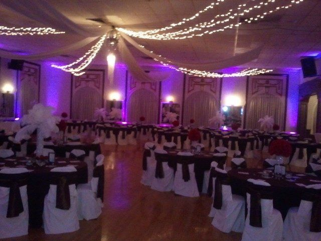 Reception and Dancing in Grand Ballroom
