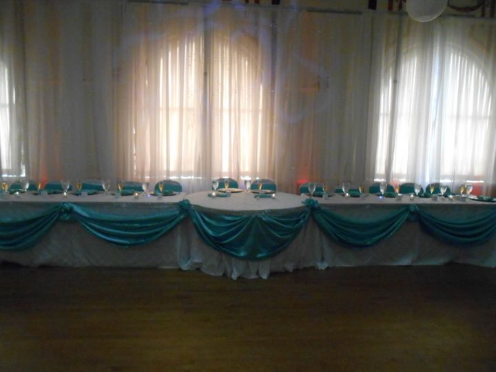 Head Table in Grand Ballroom