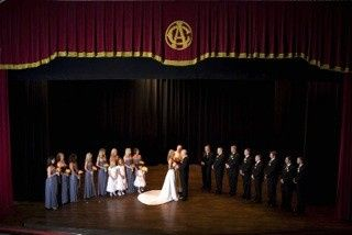 Wedding Ceremony in Historic Theater