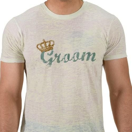 This t-shirt makes a great gift for the engaged couple when paired with the Royalty Bride shirt from...