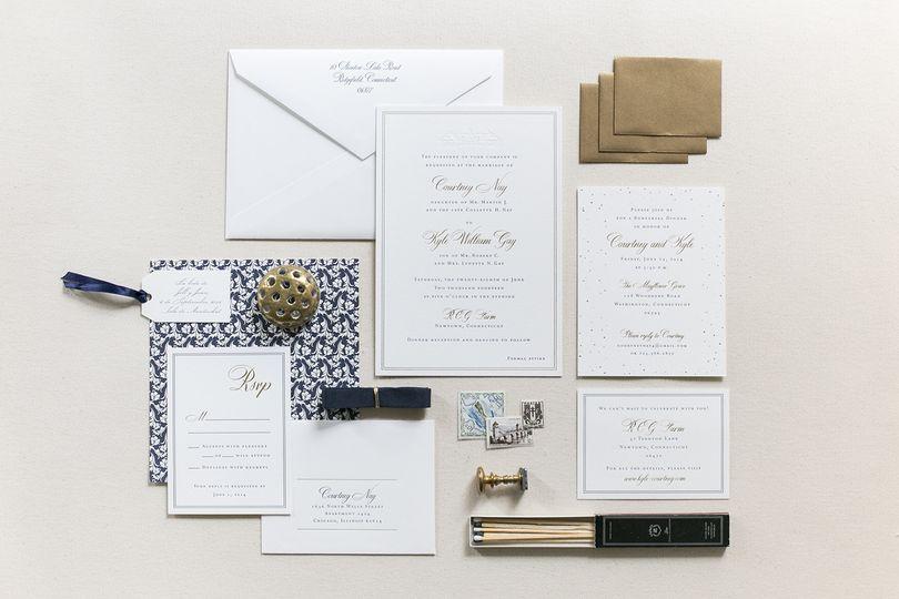 fourteen forty custom wedding invitations 1
