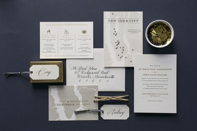 fourteen forty custom wedding invitations 2