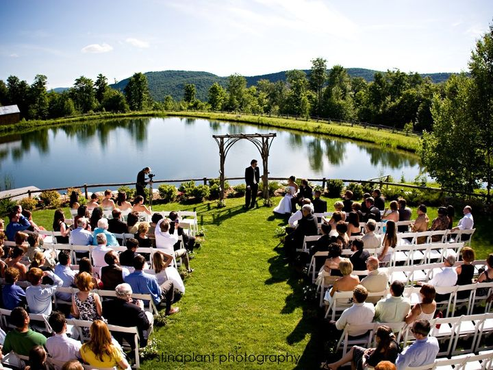 Tmx 1350593586720 Pondsoutsideceremony Essex Junction, Vermont wedding venue