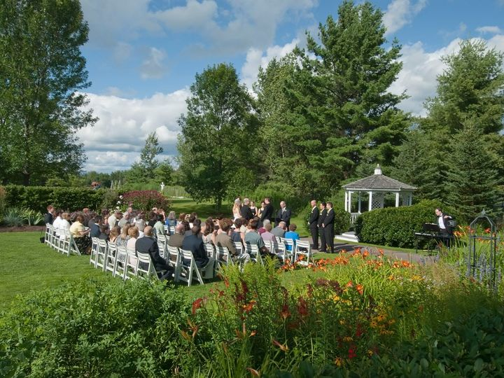 Tmx 1350593661418 EastLawnWeddingCeremony Essex Junction, Vermont wedding venue