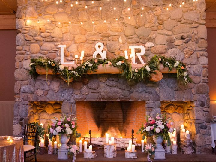 Tmx 1510342913381 Glowing Fireplace   Kelsey Regan Essex Junction, Vermont wedding venue