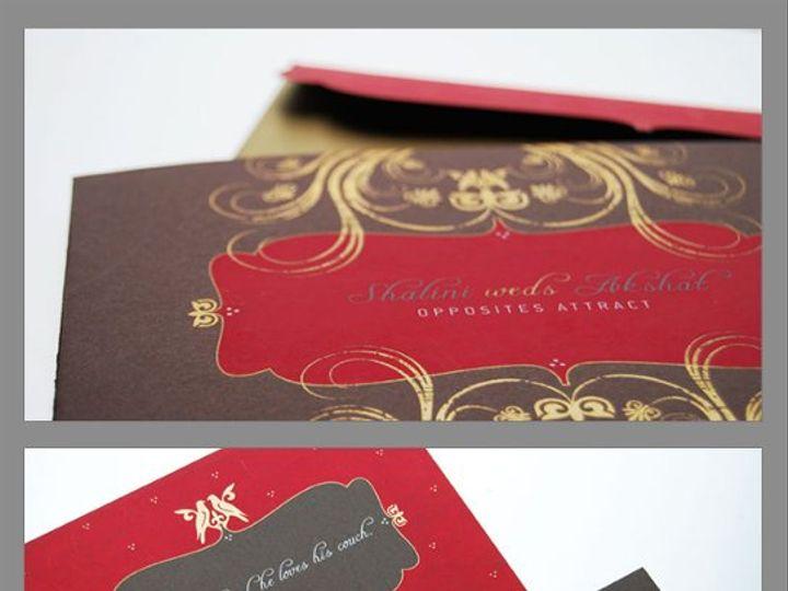 Tmx 1302017543529 AksShal Drexel Hill wedding invitation