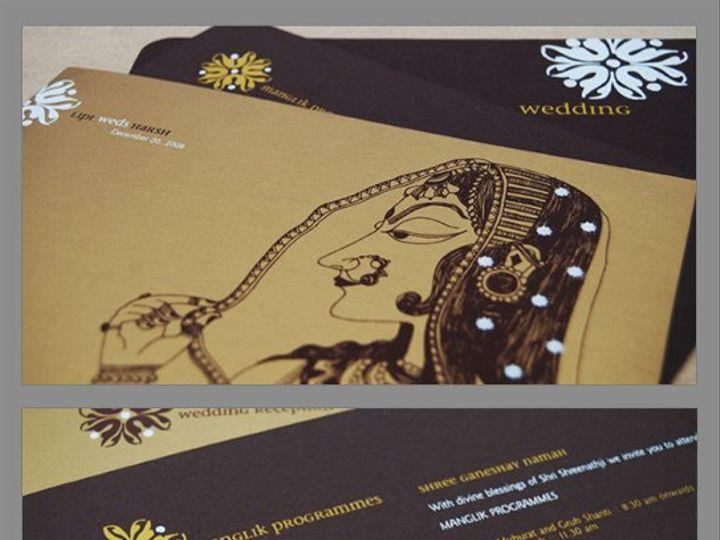 Tmx 1302017544716 LipHarsh Drexel Hill wedding invitation