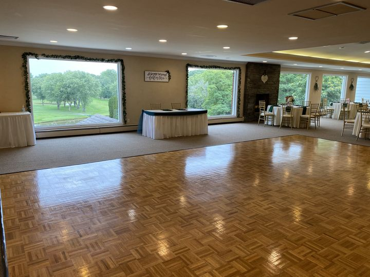 Dance Floor and Head Table