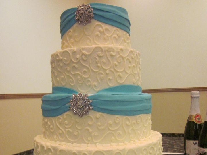 Tmx 1464288053161 018 McKinney, Texas wedding cake