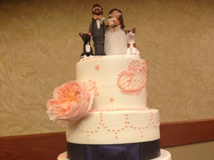 Tmx 1464288411035 18004399367205196891245904637906965309176n McKinney, Texas wedding cake
