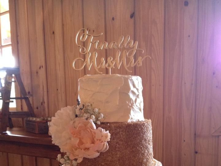 Tmx 1464288486667 1129566510752129825065431155914250363302025n McKinney, Texas wedding cake