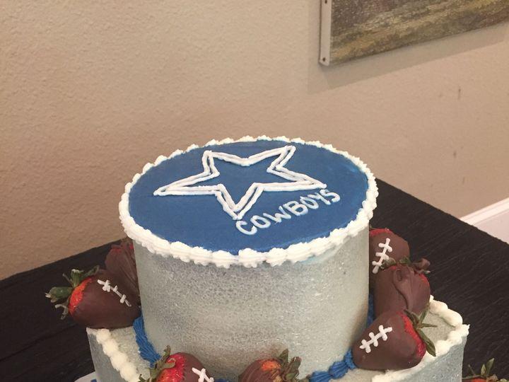 Tmx 1528602275 F5ef385cc10e278b 1528602273 C26f1753cc71d938 1528602265478 3 A13F4055 CD75 49FA McKinney, Texas wedding cake