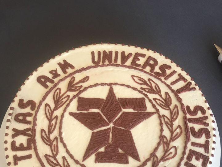 Tmx 1528602381 0f1cd0c8377b7a6e 1528602377 71598315590f8ec4 1528602362191 7 2EA43A4C F721 4D00 McKinney, Texas wedding cake