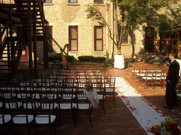 Wedding held at Riverside Receptions in Geneva,IL