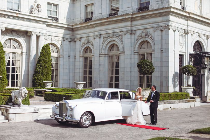 Rosecliff mansion rolls royce