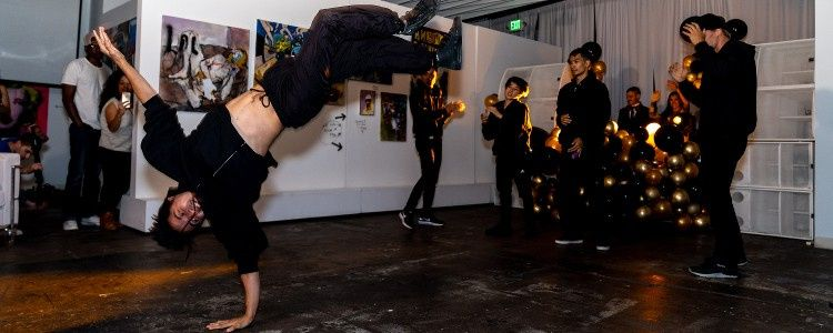 Our Bboys burning up the floor