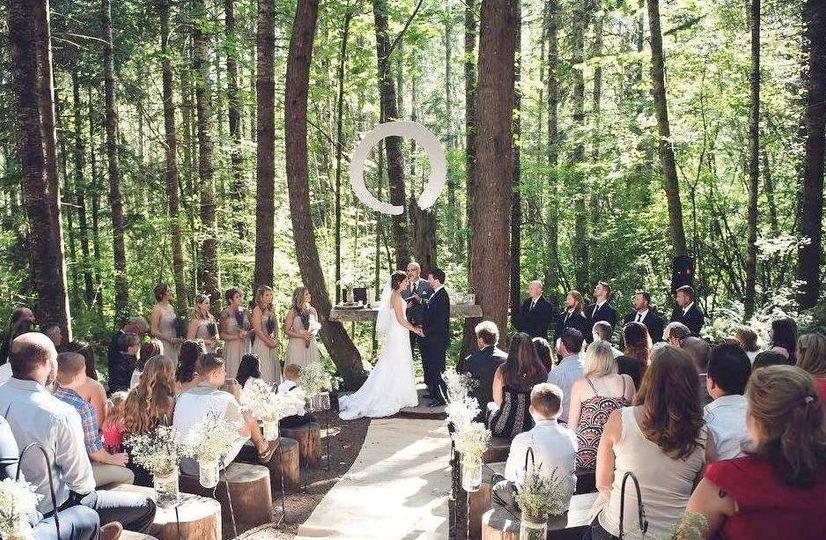 Woods weddings
