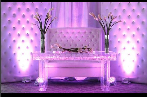 Bride & Groom Seating