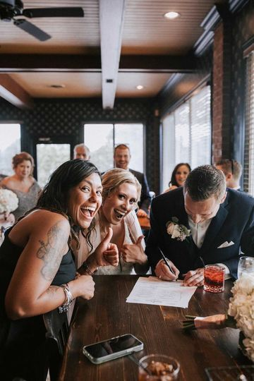 Holly & Dave Make it Official