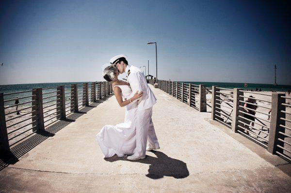 I heart military weddings!