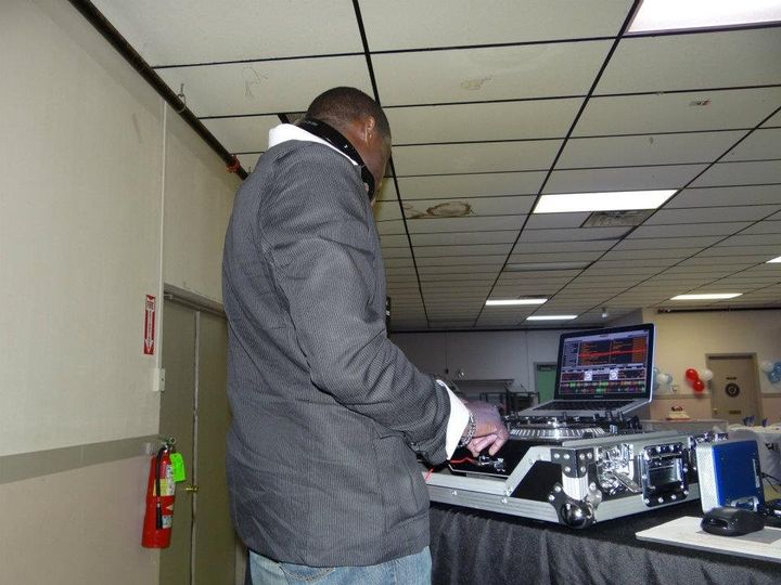 DJ on his station