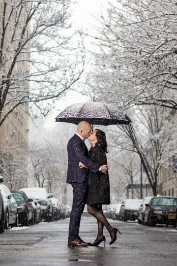 snowy central park engagement nyc 5