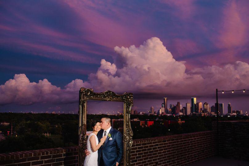 Wedding @ 2222 Studemont Roof