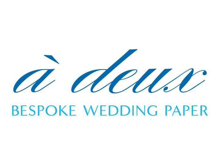 à deux: bespoke wedding paper