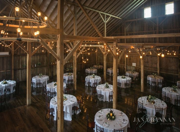 Reception in the Main Barn
