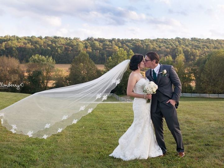 Tmx 1511557637279 Ashleigh And Keving Veil Blowing Atglen, PA wedding venue