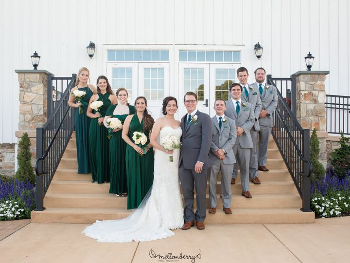 Tmx 1511984004027 Clair Bridal Party On Steps Atglen, PA wedding venue