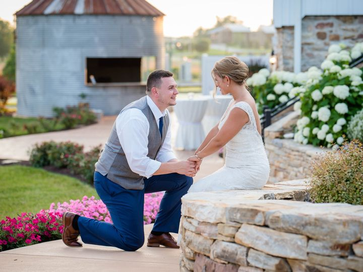 Tmx Bride And Groom On Wall Holding Hand 51 964216 Atglen, PA wedding venue