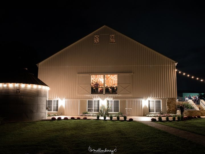 Tmx Kevin And Ashleig Back Of Barn At Night 51 964216 Atglen, PA wedding venue