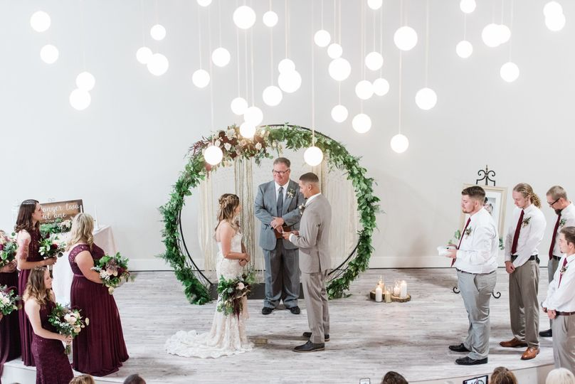 Ceremony in great room