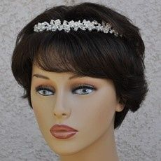 w mini pearl headband