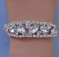 Tmx 1418151233459 W Buried Treasures Rhinestone Bracelet 7 Sun City wedding jewelry