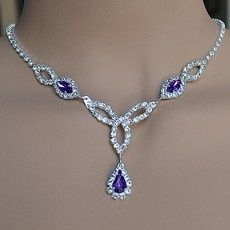 Tmx 1418151260675 W Fascination Purple Rhinestone Jewelry Set 7 Sun City wedding jewelry
