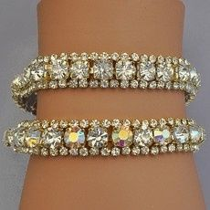 Tmx 1418151353353 W Rodeo Drive Gold Bracelets Clear Or Ab Reflectiv Sun City wedding jewelry
