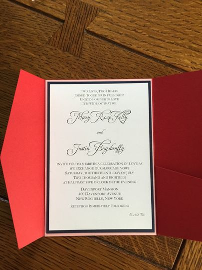 Custom Invitation