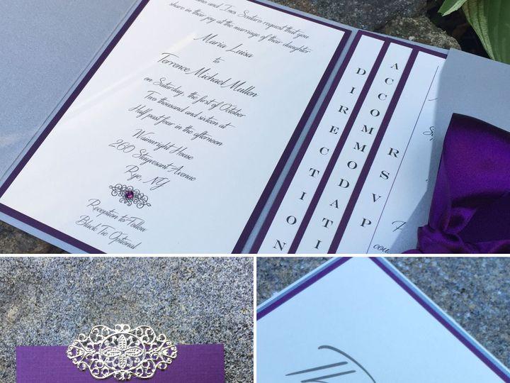 Tmx 1518462858 538ca7123579c94f 1518462856 26c73175779a31f3 1518462856360 1 8941B511 3809 48AC Mount Vernon, New York wedding invitation