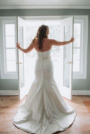 Bridal suite area