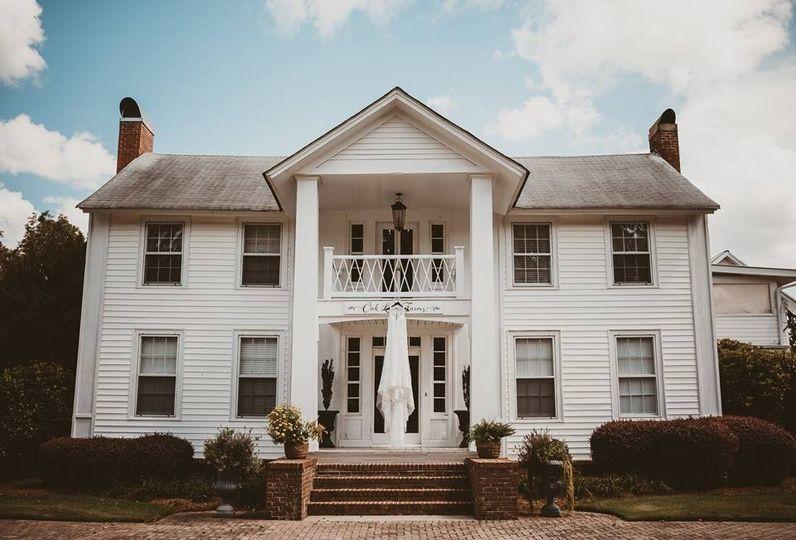 Plantation wedding venue