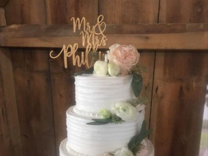 Tmx 1516734314 976c148353dced5a 1516734313 7bb0ebf7cc302790 1516734315418 2 Dolly Sweet Sensat Katy, TX wedding cake