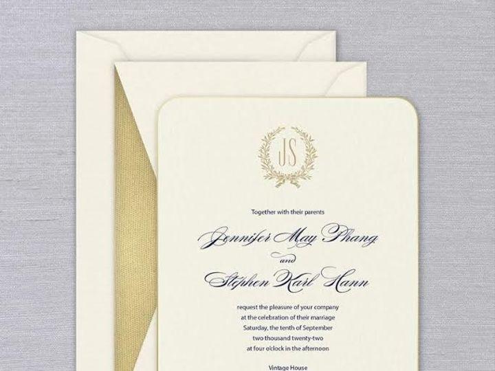 Tmx 1 6 51 186216 159078299497230 Weston, CT wedding invitation