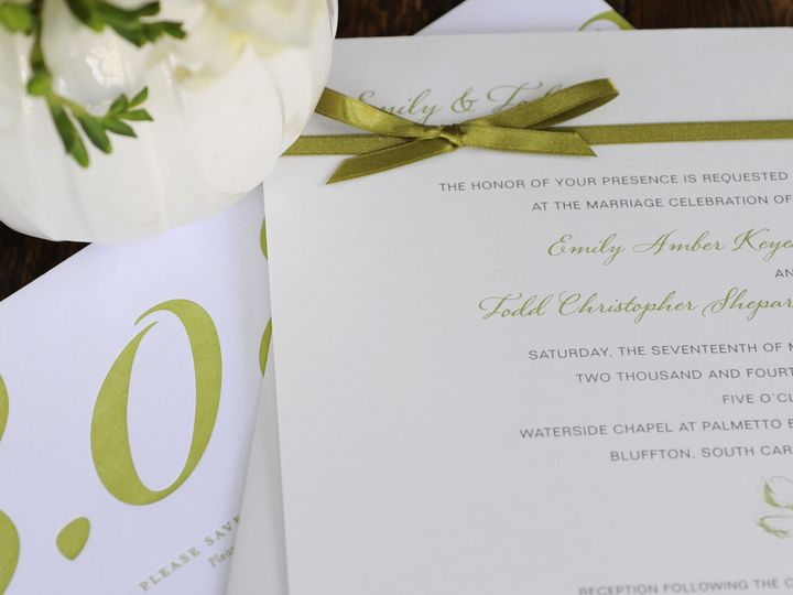 Tmx 1435695115720 Thewritestuff Weston, CT wedding invitation