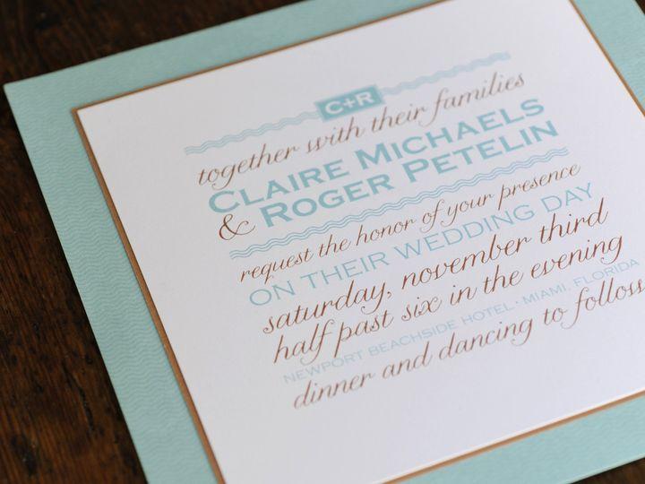 Tmx 1435764658858 Wedding4140 Weston, CT wedding invitation