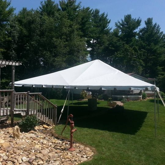 30x30 frame canopy